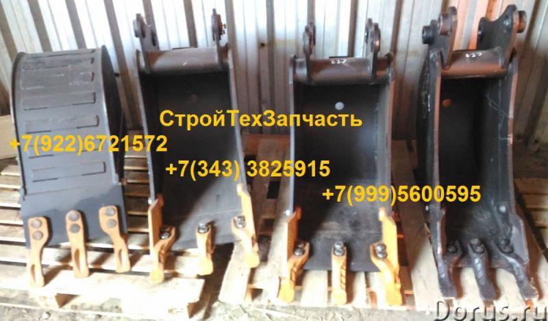 Ковш 0,09 куб.м. Komatsu WB93R-5 WB93S-5 WB97S-5 L=400 mm - Запчасти и аксессуары - Ковш 0,09 куб.м..., фото 2